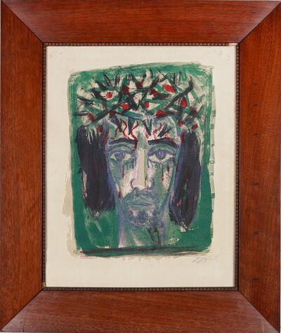 """Otto Dix, '""""Christuskopf""""', 1962"""