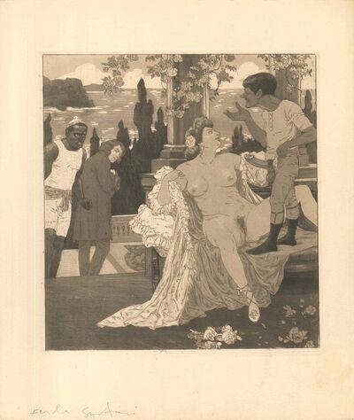 Emil Sartori, 'Erotic Scene XI - Illustration', 1907