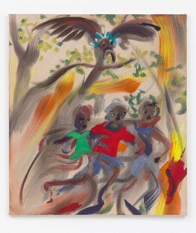 Sophie von Hellermann, 'Flaming creatures', 2019