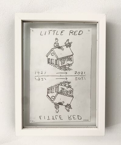 Tom Otterness, 'Little Red', 2020