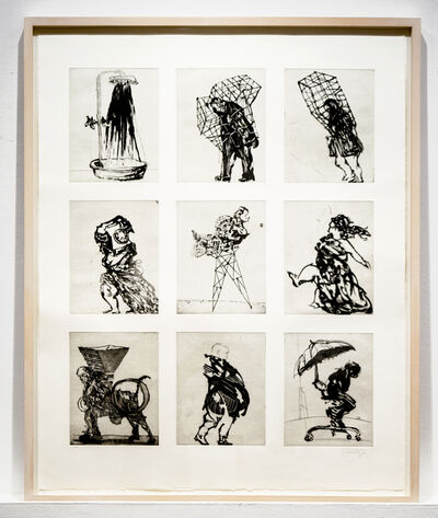 William Kentridge, 'Zeno at 4am', 2001