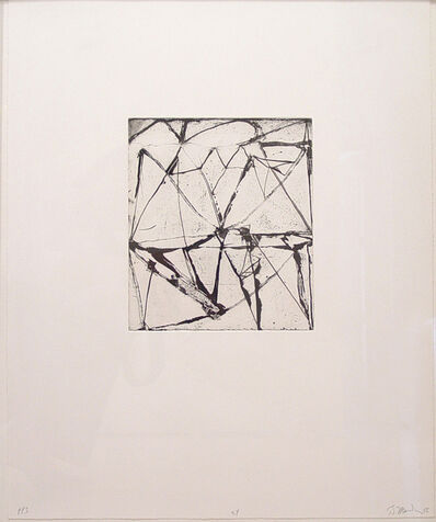 Brice Marden, 'Etchings to Rexroth #24', 1986