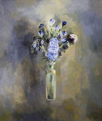 Lev Meshberg, 'Still Life with Blue Flowers', 2001