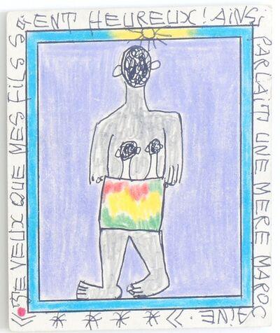 Frédéric Bruly Bouabré, 'Untitled (Je veux que... II)', 2006