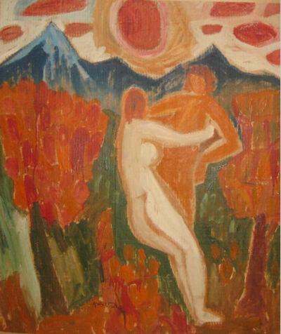 Miklós Németh, 'Embrace', 1974
