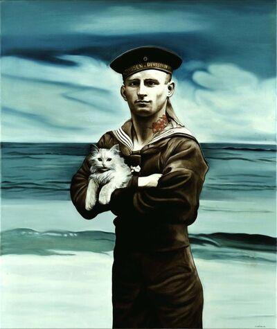 Marianna Gartner, 'Sailor with half cat', 2008