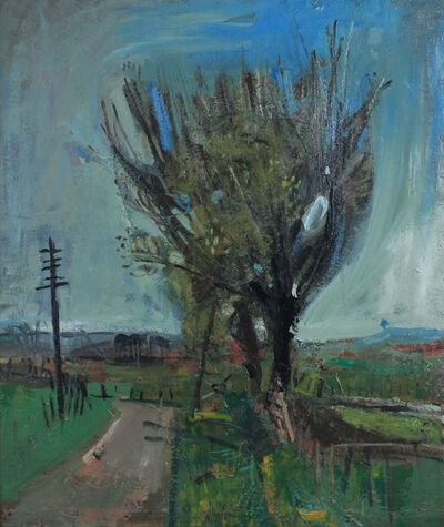 Joan Eardley, 'A Country Road', 1957