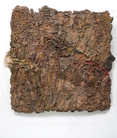Gerhard Hoehme, 'Die Wüste (Borkenobjekt)', ca. 1958