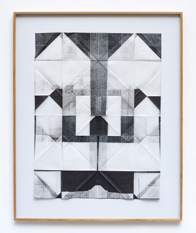 Cristiano Lenhardt, 'Litogravura Preta #2', 2017