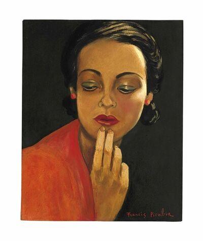 Francis Picabia, 'Sans titre (Visage de femme)', 1941-1943