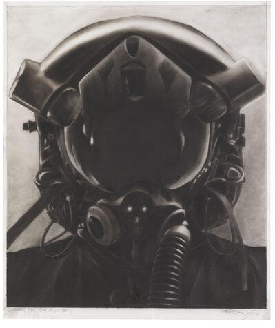Robert Longo, 'Study for a jet pilot NO.1', 2007