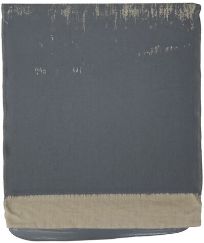 Analia Saban, 'Pressed Paint (Middle Gray)', 2017