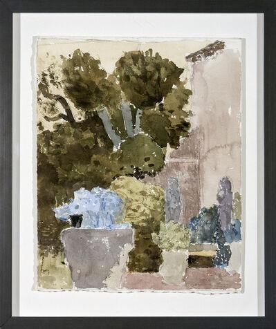 John Fox, 'Corner of Habsburg Garden, Venice', 1997