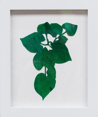 Hannah Cole, 'Dark Green Heart Weed', 2018