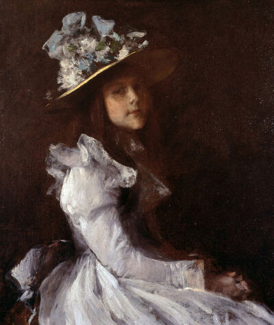 William Merritt Chase, 'Koto Chase', 1899