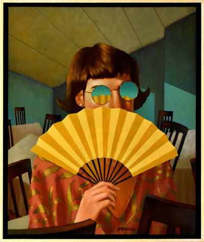 Rob Browning, 'Yellow Fan', 2400