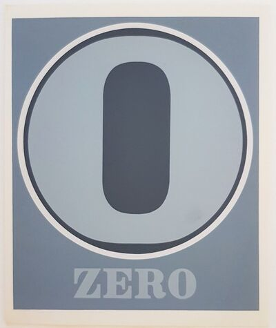 "Robert Indiana, 'Numbers Suite: ""Zero""', 1968"