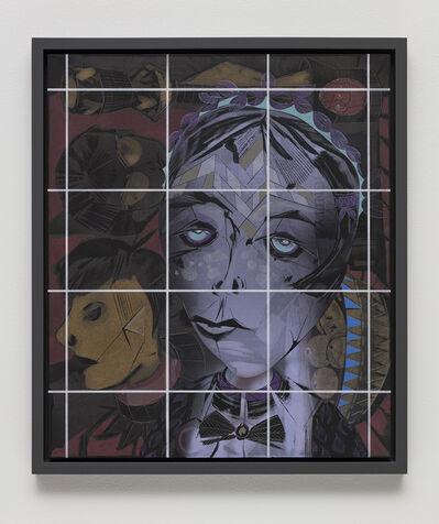 Lari Pittman, 'Portrait of a Human (Pathos, Ethos, Logos, Kairos #13)', 2018