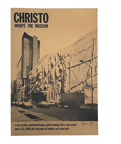 Christo, 'Christo wraps the museum: Scale Models, Photomontages, and Drawings for a Non-Event, June 5-25, 1968, the Museum of Modern Art, New York', 1968