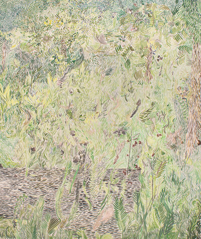 Tim Cross, 'Green Garden Thicket', 2018