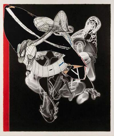 Frank Stella, 'Schwarze Weisheit for D.J.', 2000