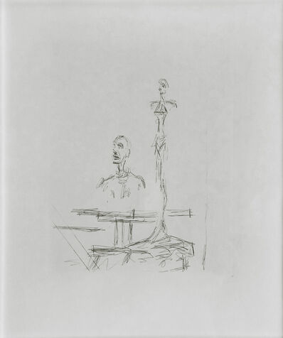 Alberto Giacometti, 'THE SEARCH', 1965