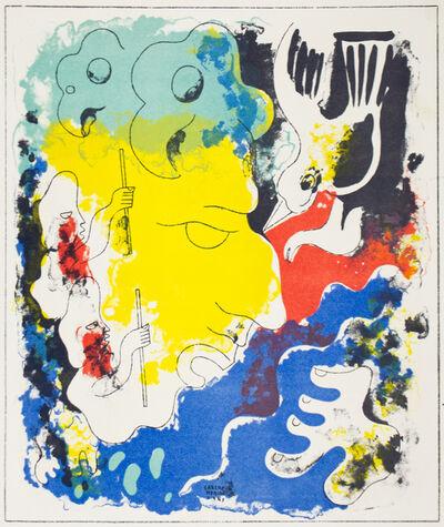 Carlos Merida, 'Estampas de Popol Vuh (Plate V)', 1943