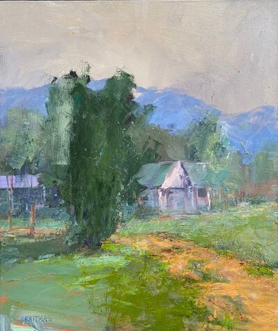 Andy Braitman, 'Blue Retreat', 2020