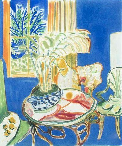 Henri Matisse, 'Petit Interieur Bleu', 1952