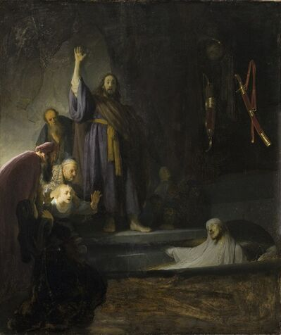 Rembrandt van Rijn, 'The Raising of Lazarus', ca. 1630-1632