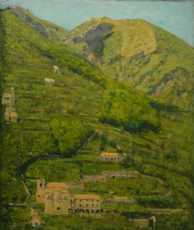 Henry Snell, 'Italian Hillside', ca. 1905