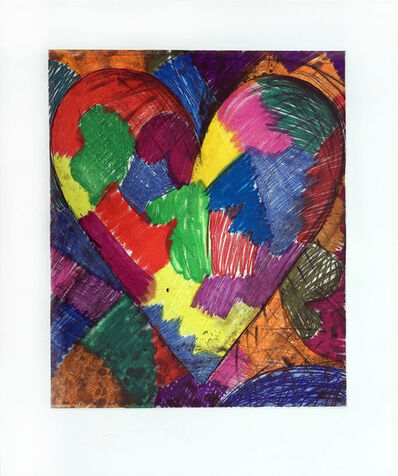 Jim Dine, 'A Beautiful Heart', 1996
