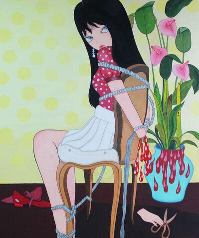Jang Koal, 'Red Shoes Girl', 2016