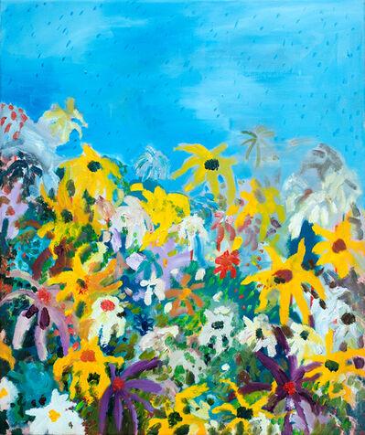 Sarah Osborne, 'Fleurs sous la pluie', 2015