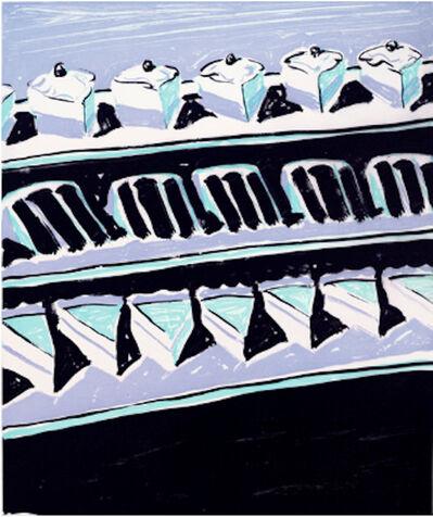 Wayne Thiebaud, 'Cakes and Pies', 2006