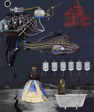 Wang Haiyang, 'Freud, Fish and Butterfly', 2012