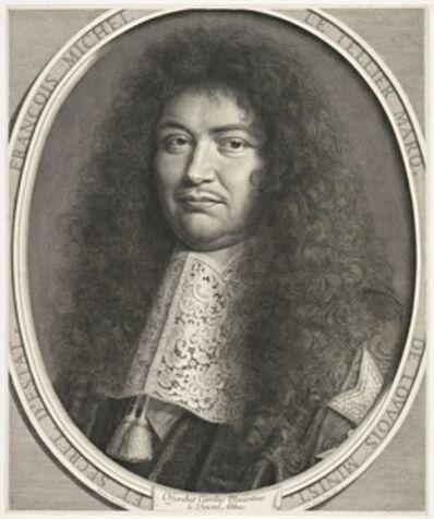 Robert Nanteuil, 'Fran‡ois-Michel Le Tellier, marquis de Louuois', 1677