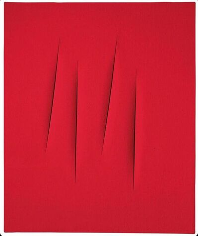 Lucio Fontana, 'Concetto Spaziale, Attese', 1965