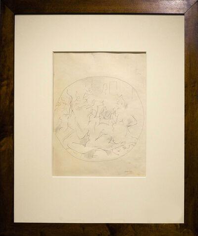 Michael Snow, 'The Turkish Bath By Ingres', 1959