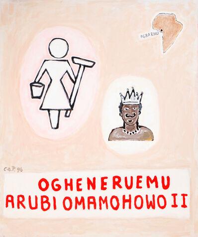 C.O. Paeffgen, 'WEISSE PUTZFRAU IN AFRIKA', 1996-2019