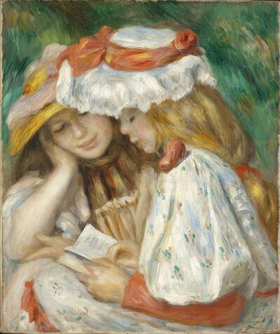 Pierre-Auguste Renoir, 'Two Girls Reading', 1890-1891