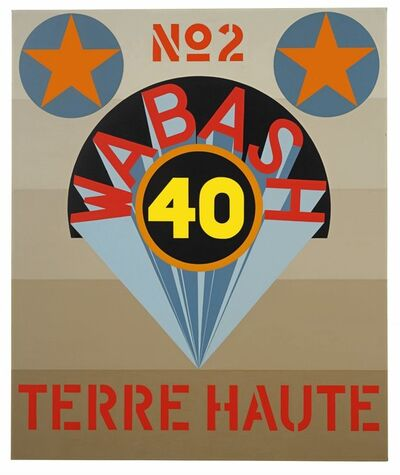 Robert Indiana, 'Terre Haute No. 2', 1969