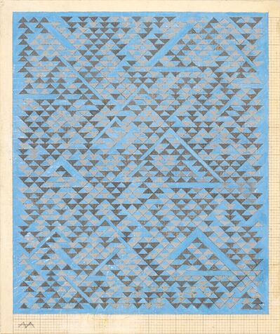 Anni Albers, 'Study for A', 1968