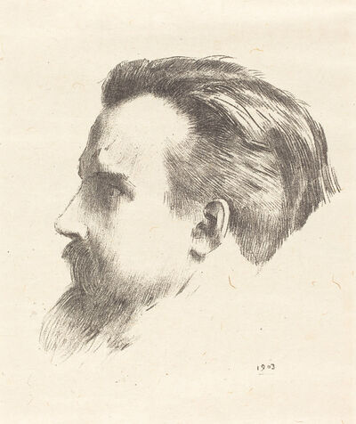 Odilon Redon, 'Maurice Denis', 1903