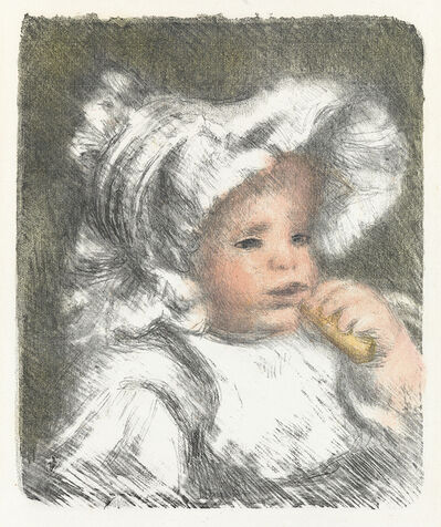Pierre-Auguste Renoir, 'L'Enfant au Biscuit (Jean Renoir)', 1899