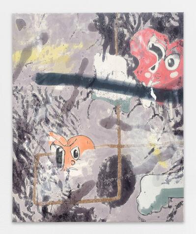 Chris Hood, 'Untitled (Smoking Hearts 2)', 2017