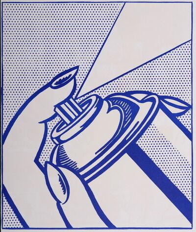 Roy Lichtenstein, 'Spray Can (1 cent life), 1964', 1964