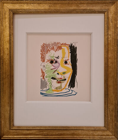 Pablo Picasso, 'Face of a man X, 1964 after Picasso', 1998