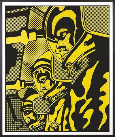 Claudio Tozzi, 'Astronauta Amarelo', 1970