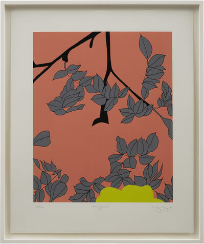 Gary Hume, 'Grey Leaves', 2004